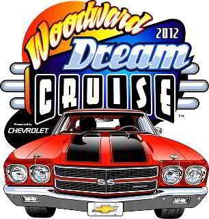 Woodward Dream Cruise 2012 logo