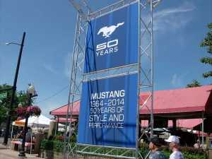 Mustang Alley 2014