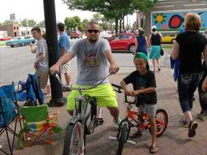The Bikers Steve and Liam