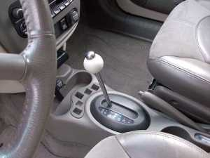 Newly installed cue ball shifter