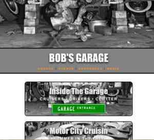 Bob's Garage site